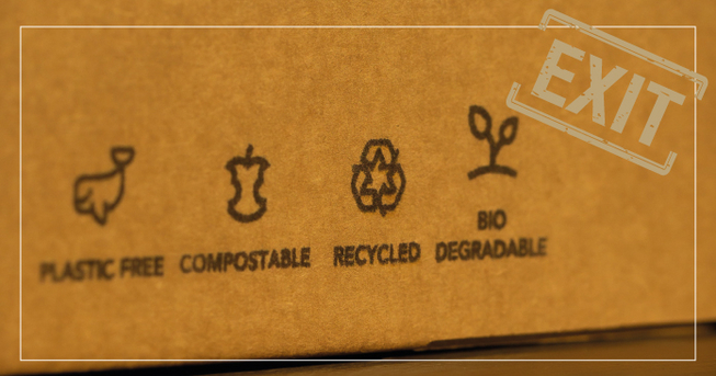 Recyclebare Pappverpackung