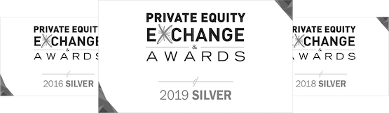 Private Equity Exchange Awards 2016, 2018 und 2019 Silver